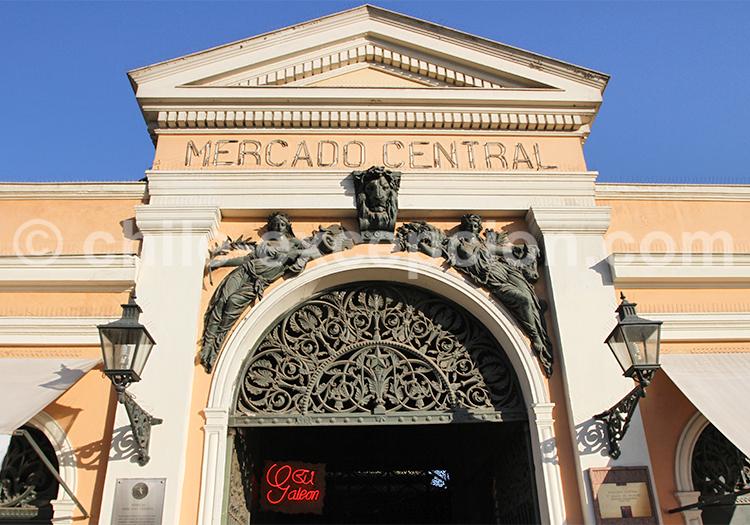 Entrée du Mercado Central
