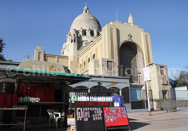 Basilique de Lourdes, Parc Quinta Normal, Santiago de Chile