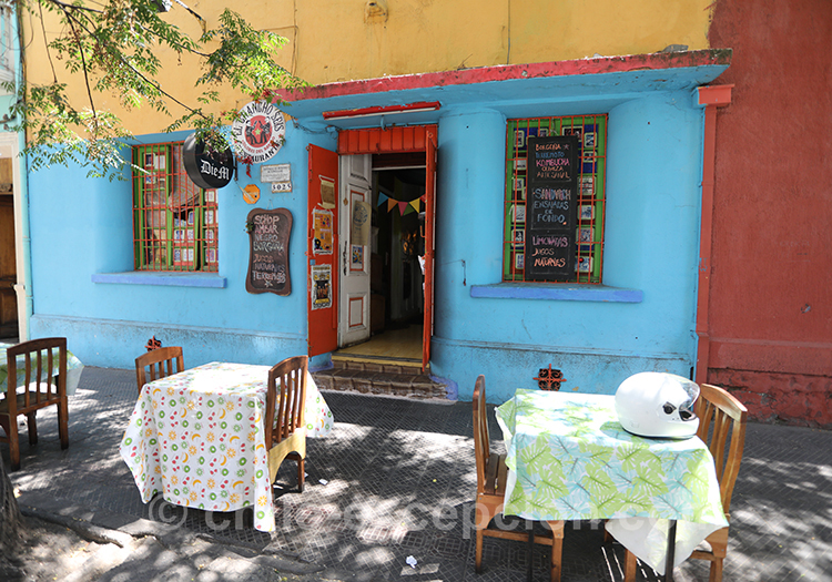 Quel quartier de Santiago de Chile voir à tout prix : Yungay