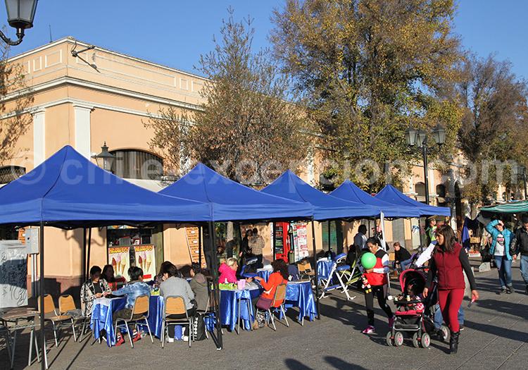 Où se restaurer dans le Marché Central, Santiago de Chile
