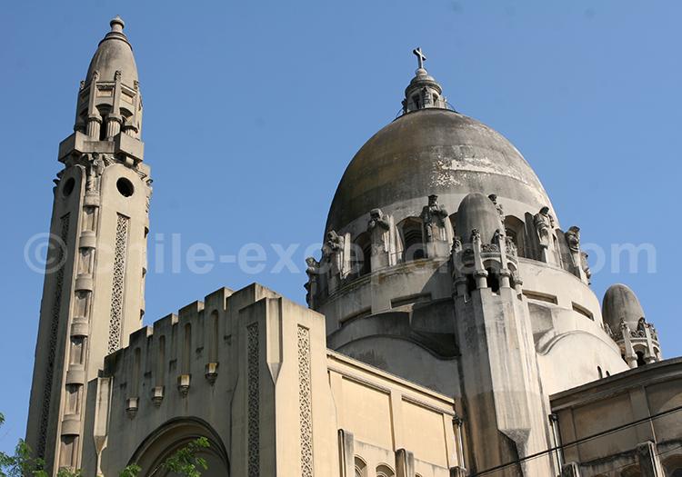 Architecture style néo-byzantin, Basilique de Lourdes, Santiago