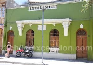 Ambiance populaire du quartier Yungay à Santiago