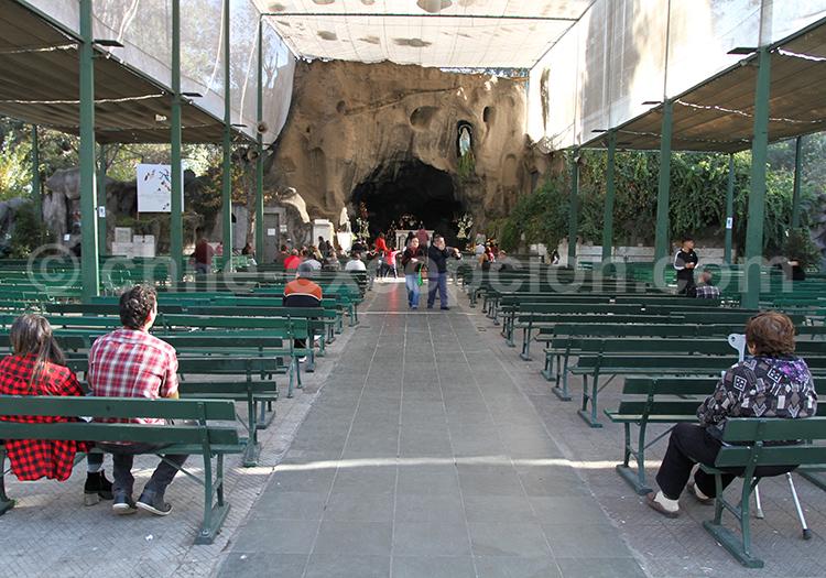 Autel, Basilique de Lourdes, Santiago
