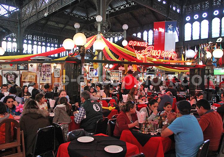 Restaurant, Mercado Central