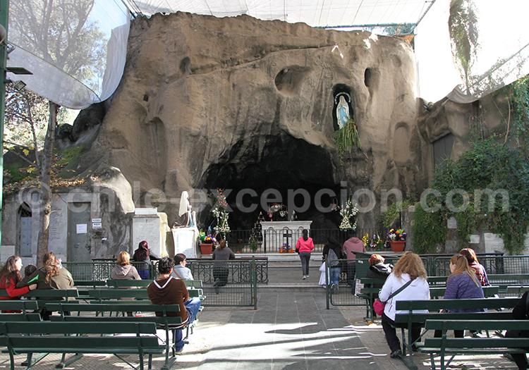 Autel, Basilique de Lourdes, parc Quinta Normal