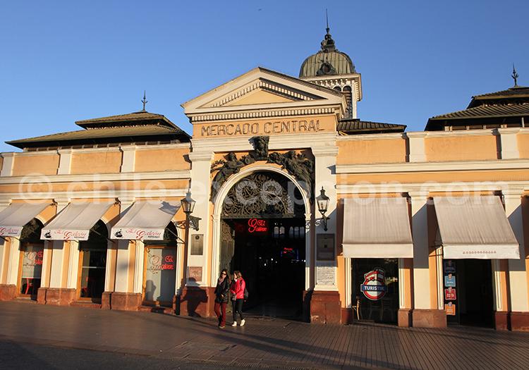Mercado Central, monument historique de Santiago de Chile