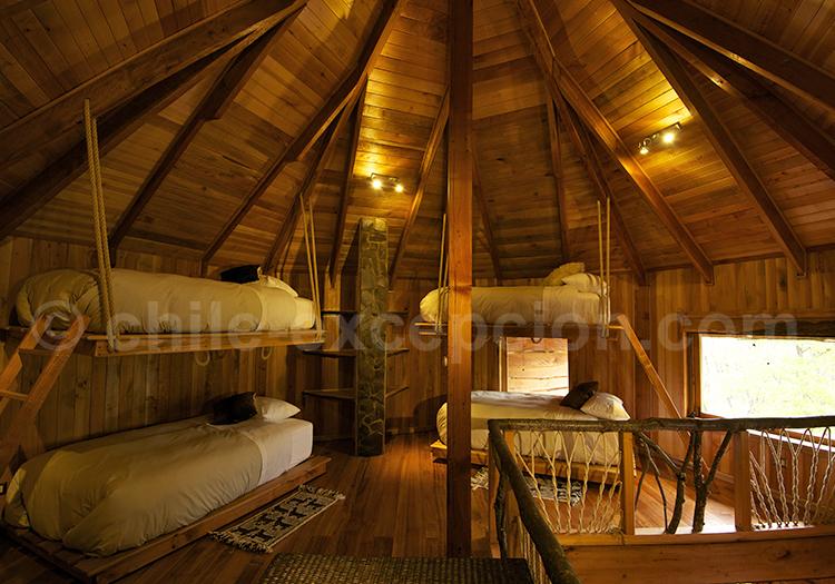 Ñamku Lodge, Couchettes