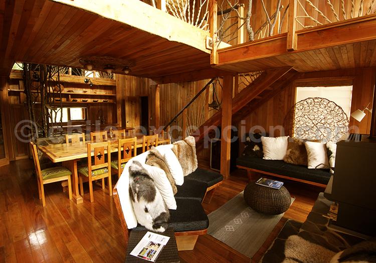 Ñamku Lodge, Salon