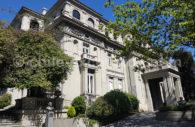Palacio Bruna, quartier Lastarria, Santiago, Chili