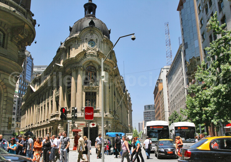 Bolsa de Comercio, La City, Santiago