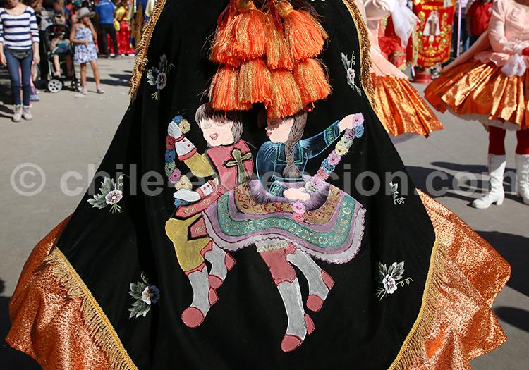 Costume des Andes, Iquique