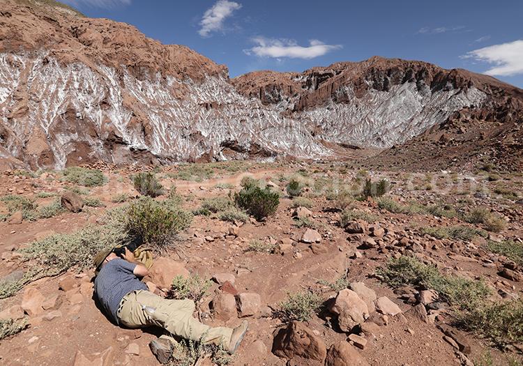Photographe de voyage, mise en scène, Chili