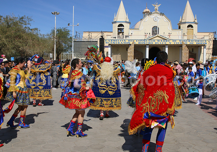 Fiesta de la Tirana, parade des danseurs et des costumes