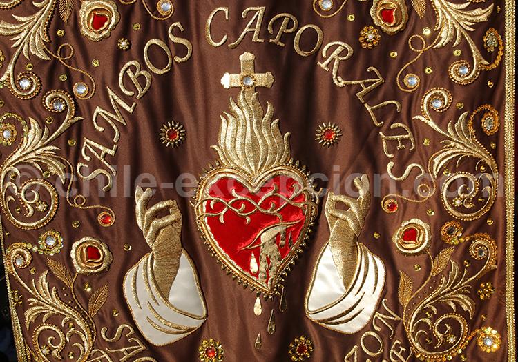 Fête catholique à Iquique, Chili