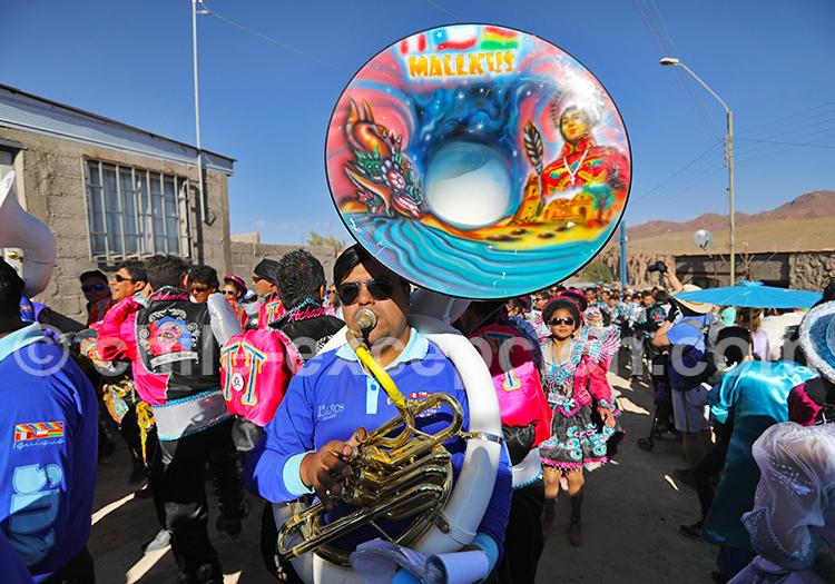 Fanfare, fête au Chili