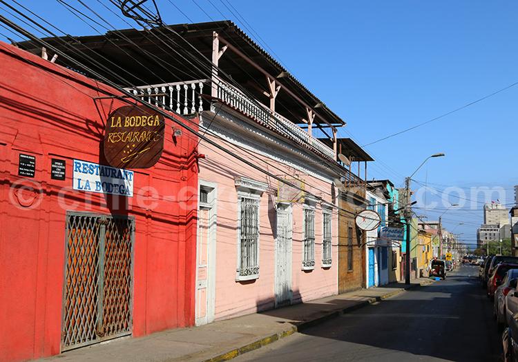 Tourisme dans les rues d'Iquique