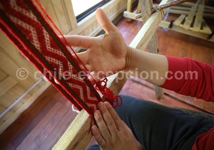 Production de textile, Sud du Chili