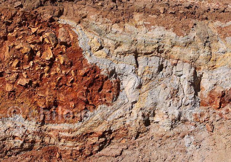 Courbes et couleurs du sol chilien