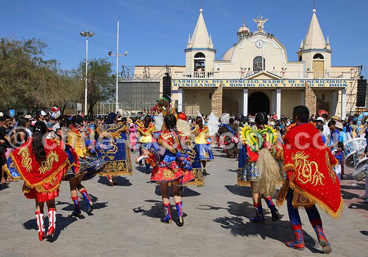 Fiesta de la Tirana, baile de paso, Chile