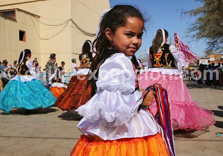 Costume de fête, Iquique