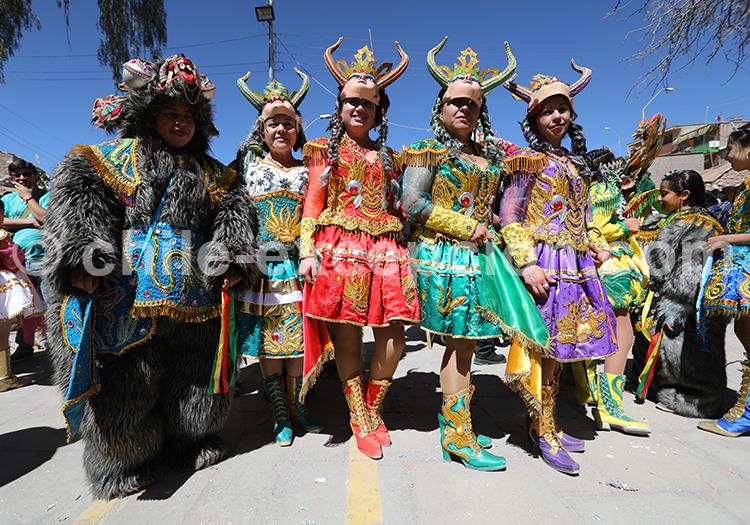 Le clou du spectacle, fête de la Tirana, Iquique