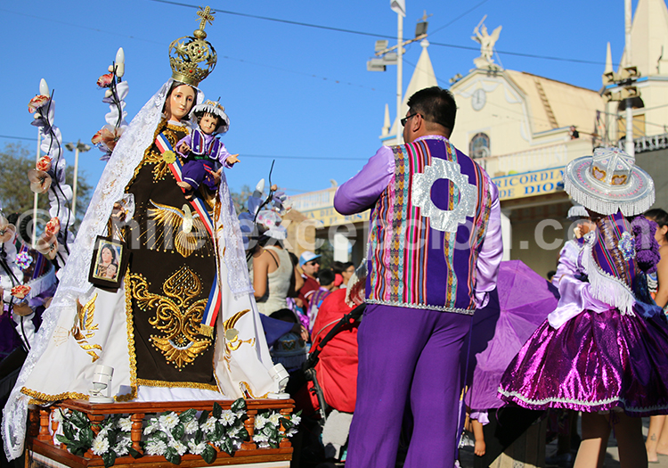 Fête religieuse du Nord du Chili