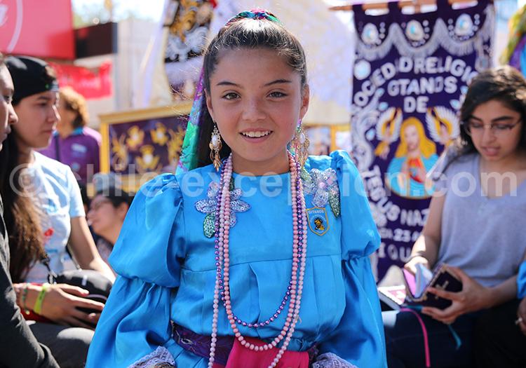 Beauté ethnique du Chili