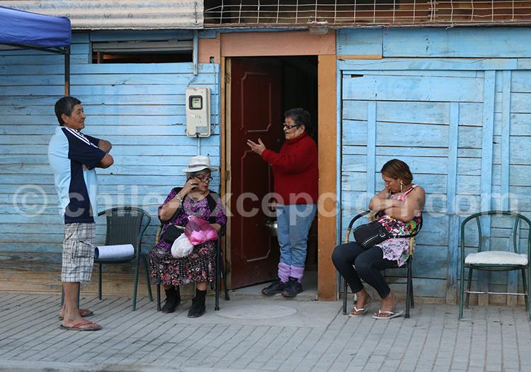 Lieu de vie, Nord du Chili