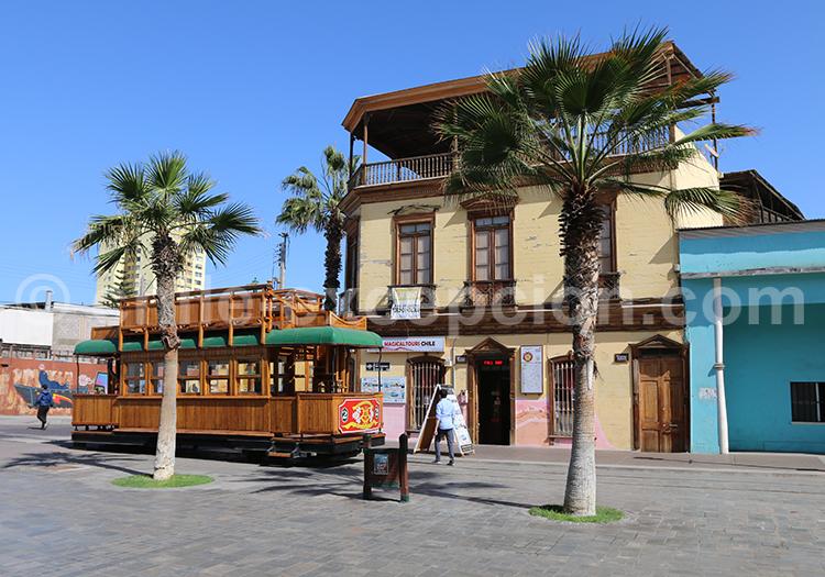 Baquedano street, Nord du Chili