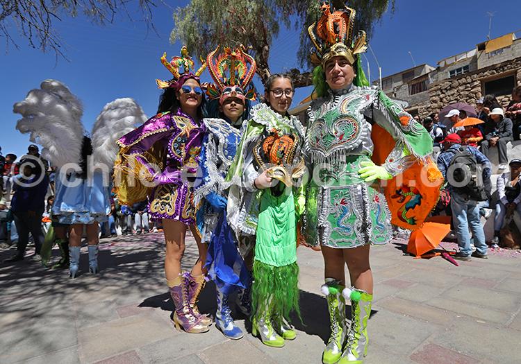 Habits de fête, Altiplano