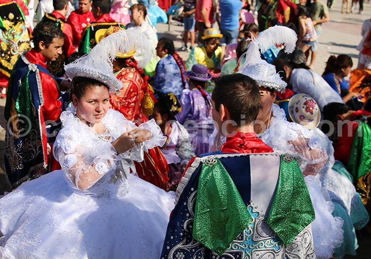 Carnaval dans le Nord du Chili