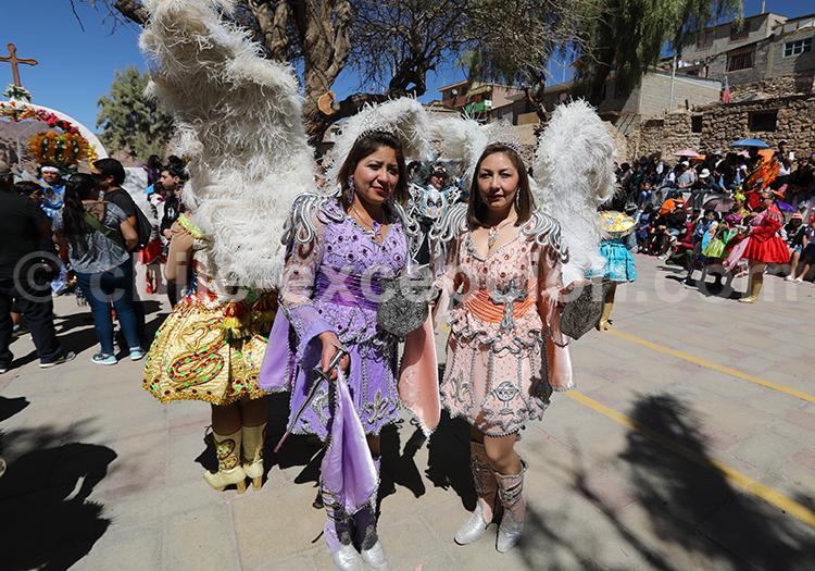Costumes religieux des Andes