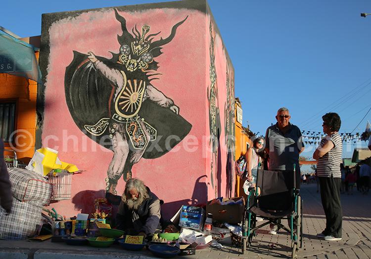 Art mural festif, Iquique