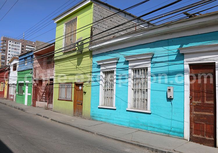 Voyage dans la ville colorée d'Iquique