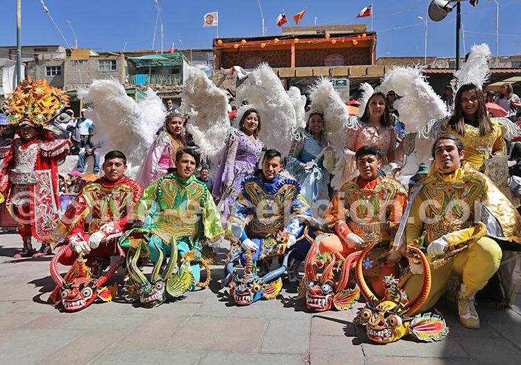 Troupe folklorique de danseurs chiliens