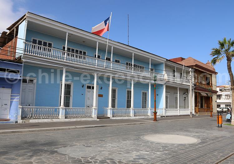 Maison coloniale à Iquique, Chili