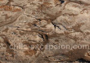 Sel et terre, dans l'Atacama