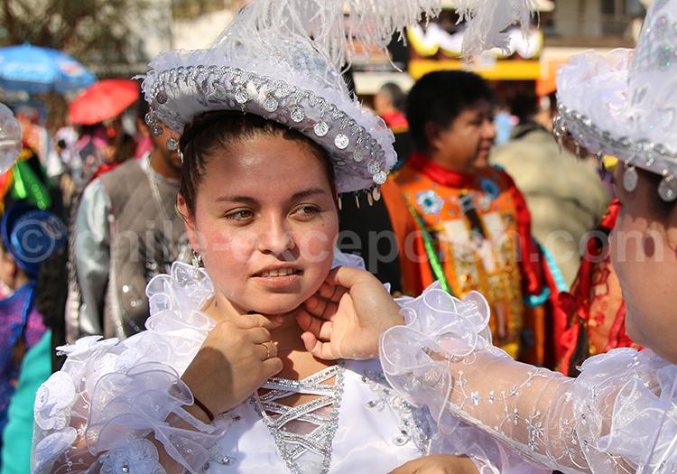 Portrait de fête, Iquique