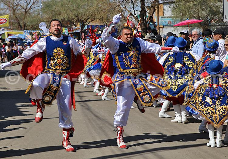 Fiesta de la Tirana, bailes de salto, Chile