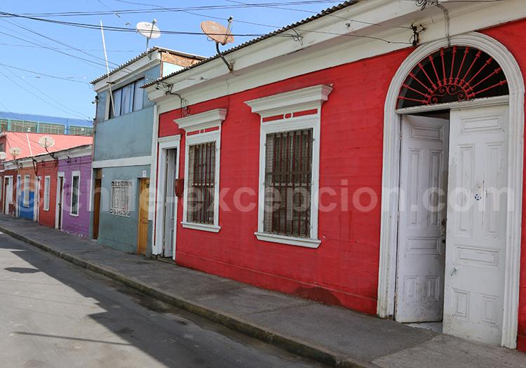 Vagabonder dans la ville d'Iquique
