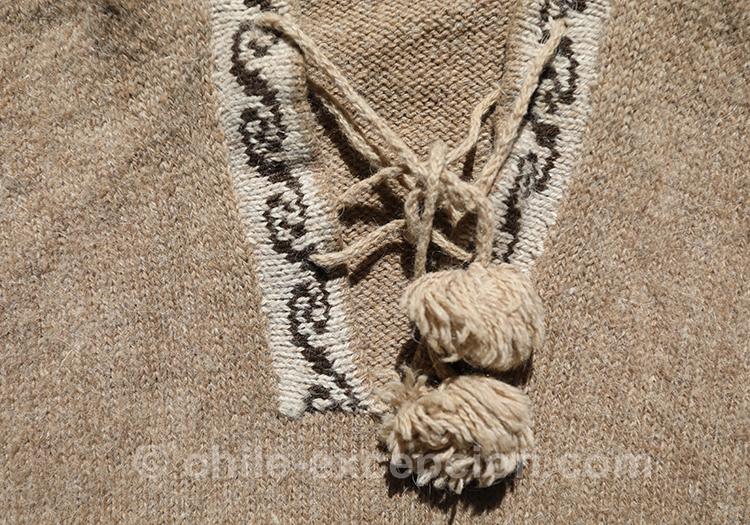 Pompons et motifs andins au Chili avec l'agence de voyage Chile Excepción