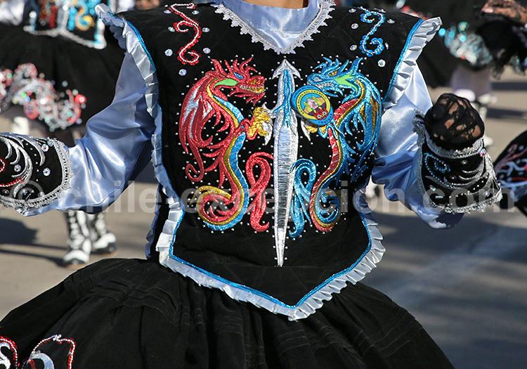 Costume de fête, Nord du Chili