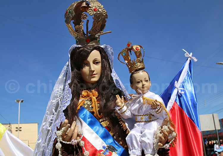 Vierge de la Tirana, pèlerinage du Chili