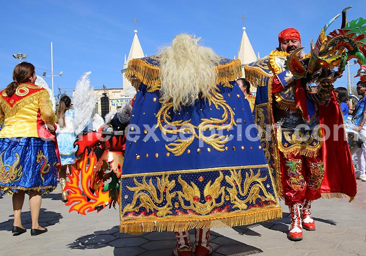 Chorégraphie traditionnelle, Iquique, Nord du Chili