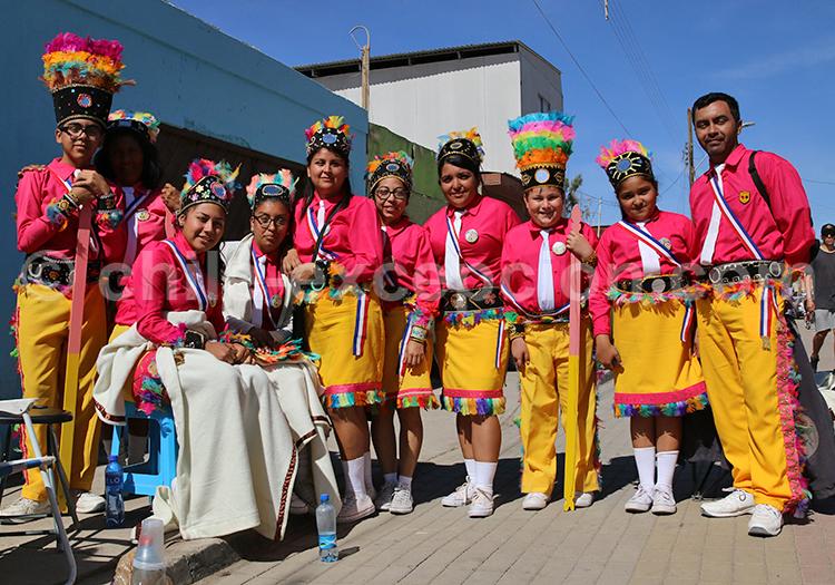 Photo de groupe à Iquique, Chili