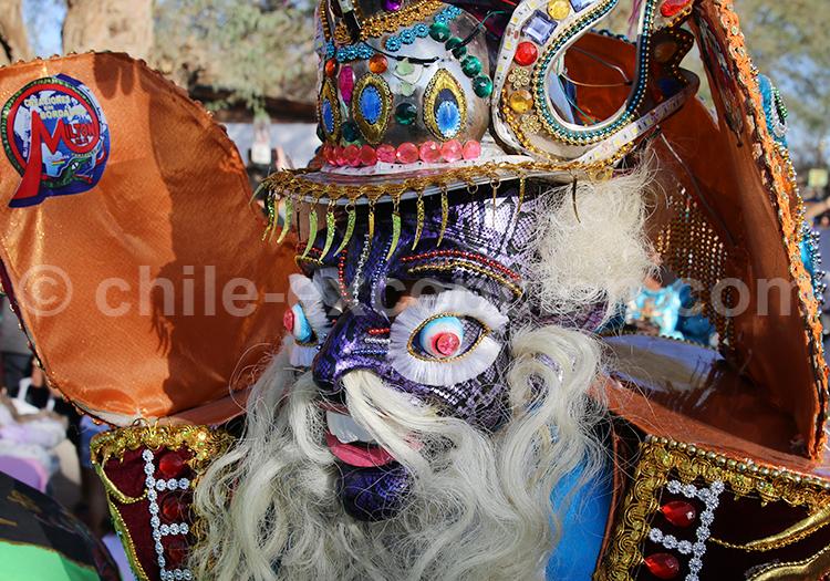 Masque traditionnel andin, La Tirana