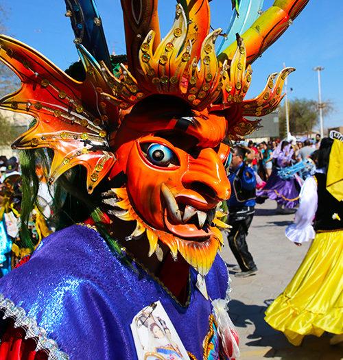 Masques folkloriques