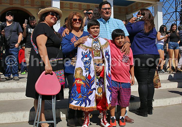 Photo de famille, rues d'Iquique