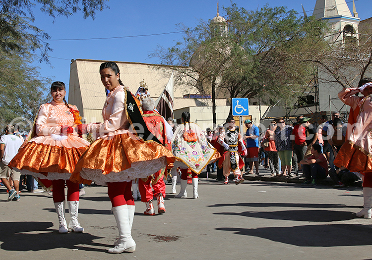 Fête de la Vierge Carmen de la Tirana