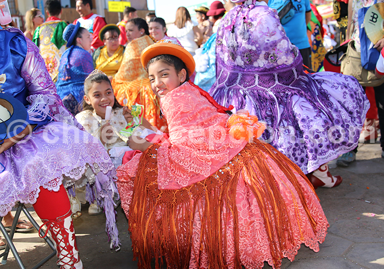 Groupe culturel à Iquique